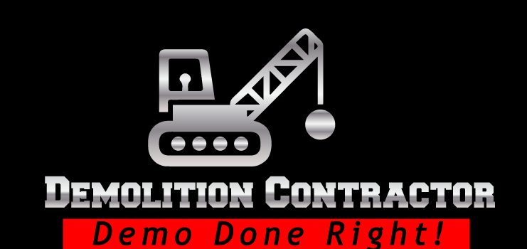 the logo of a demolition contractor in Boca Raton Florida